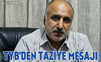 TYB Balcı için taziye mesajı yayınladı