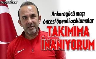 Erzurumspor, başkentten 3 puanla dönmeyi hedefliyor