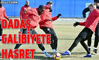 Erzurumspor galibiyete hasret