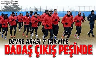 Erzurumspor yeni transferleriyle çıkış peşinde