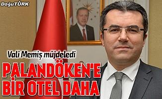 Vali Memiş müjdeyi verdi: Palandöken'e yeni bir otel yapılıyor
