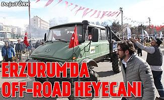 Erzurum'da Off-Road heyecanı