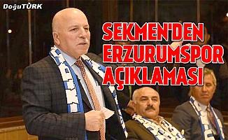 """""""Erzurumspor, bugünden itibaren yeni bir başlangıç yapıyor"""""""