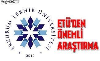 """ETÜ'den """"Erzurum İli Sosyo-Ekonomik Profili 2018"""" araştırması"""