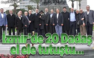 İzmir'de 20 Dadaş el ele tutuştu
