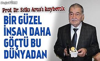 Prof. Dr. Sıtkı Aras vefat etti