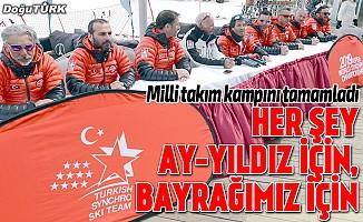 Senkronize Kayak Milli Takımı, Erzurum kampını tamamladı