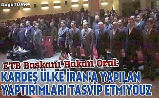 Türk ve İran ilişkileri masaya yatırıldı