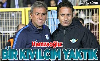 Hamzaoğlu: Bir hatada oyuncuları eleştirirsek...