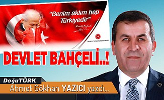 DEVLET BAHÇELİ..!