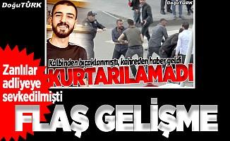 Erzurum'daki bıçaklı kavgada flaş gelişme
