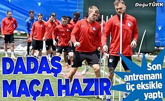 Erzurumspor, Kayserispor maçına hazır