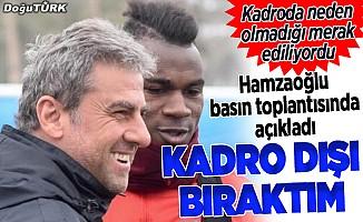 Hamzaoğlu: Kazandığımız maçlarda bile sevinmiyordu