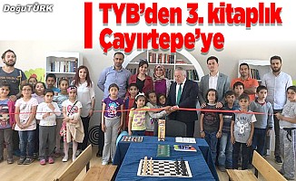 TYB Erzurum Şubesi 3. kitaplığı Çayırtepe'de kurdu