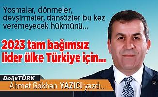 2023 Tam Bağımsız Lider Ülke Türkiye için...