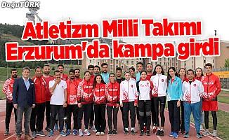 Atletizm Milli Takımı Erzurum'da kampa girdi