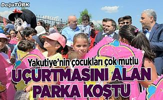 """Erzurum'da """"Uçurtma Şenliği"""" düzenlendi"""