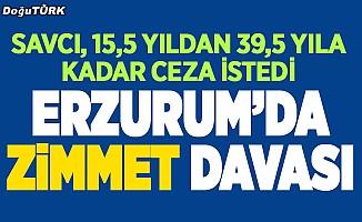 Erzurum'da zimmet davası