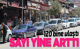 Erzurum'da motorlu kara taşıtı sayısı arttı