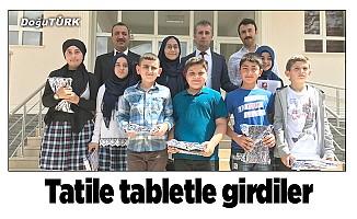 İmam Hatip Okulu'ndan tablet hediyeli tatil