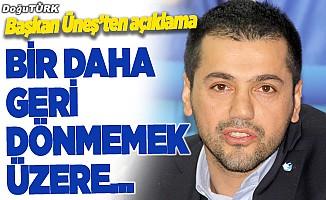 BB Erzurumspor Başkanı Üneş, fikstür sonrası konuştu