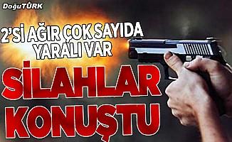 Erzurum'da silahlı kavga: Çok sayıda yaralı var!