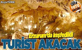 """Erzurum'daki """"gizemli mağara"""" turizme kazandırılacak"""