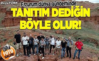 Erzurum dünya gündeminde