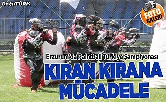 Erzurum'da kıran kırana mücadele
