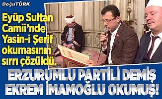 Erzurumlu partili demiş Ekrem İmamoğlu okumuş!