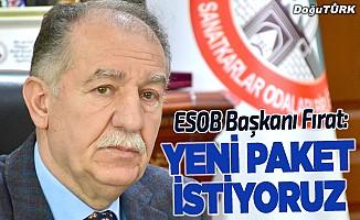ESOB Başkanı Fırat: Yeni paket istiyoruz