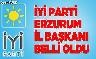 İYİ Parti Erzurum İl Başkanı Haluk Terzioğlu oldu