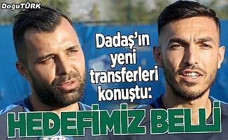 Süper Lig'e yükselmek istiyoruz