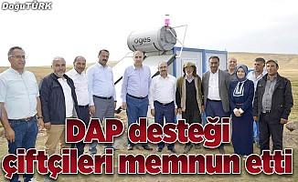 DAP desteği çiftçileri memnun etti