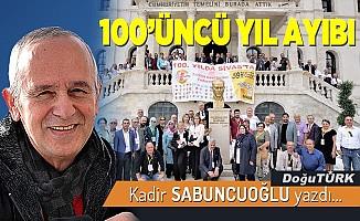 100'ÜNCÜ YIL AYIBI