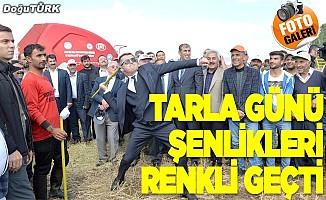 """Erzurum'da renkli """"Tarla Günü"""" etkinliği"""