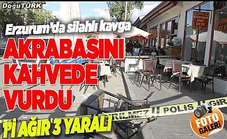 Erzurum'da silahlı kavga: 3 yaralı