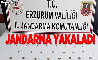 Erzurum'da tarihi eser kaçakçılığı operasyonu