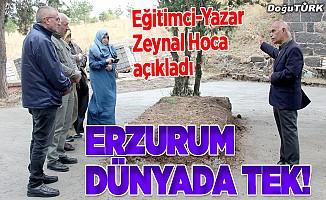 Erzurum dünyada tek!