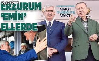 Erzurum 'Emin' ellerde