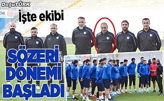 Erzurumspor, Erkan Sözeri ile anlaştı