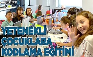 Yetenekli çocuklara kodlama eğitimi