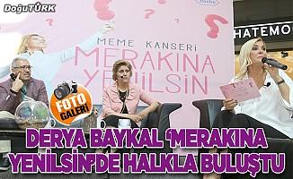 """Derya Baykal sunuculuğunda """"Merakına Yenilsin"""" halk buluşması"""