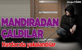 Erzurum'da çelik kapı hırsızlığı iddiası