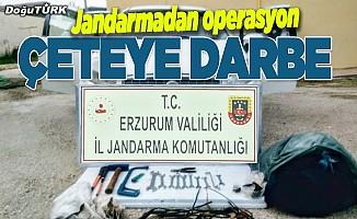 Erzurum'da hırsızlık çetesi operasyonu