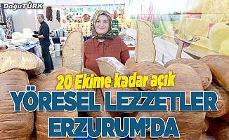 Erzurum Gıda ve Yöresel Lezzetler Fuarı açıldı