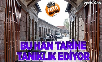 Kamburoğlu Hanı tarihe tanıklık ediyor