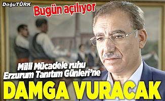 Milli Mücadele ruhu, Erzurum tanıtım günlerine damga vuracak