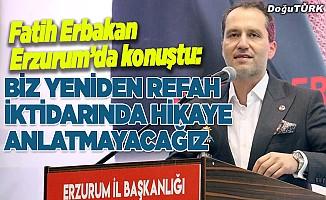 Yeniden Refah Partisi Erzurum 1. Olağan Kongresi yapıldı