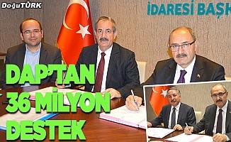 DAP İdaresinden 12 proje için 36 milyon lira destek